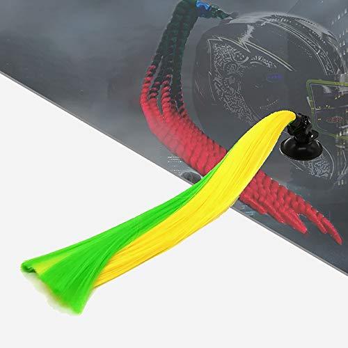 BDTOT Casco Pigtails Gradient Ramp Trenzado Ponytail Casco Cabello con...