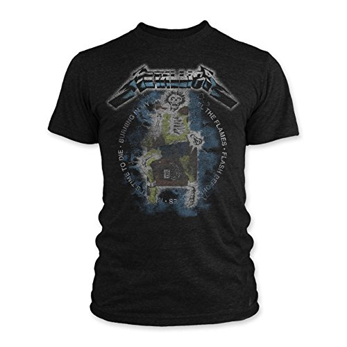 Metallica Official Vintage Electric Chair Adult T-Shirt, Medium Size