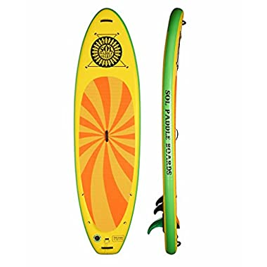 SOL Paddle Boards SOLtrain SUP 10'7  Inflatable