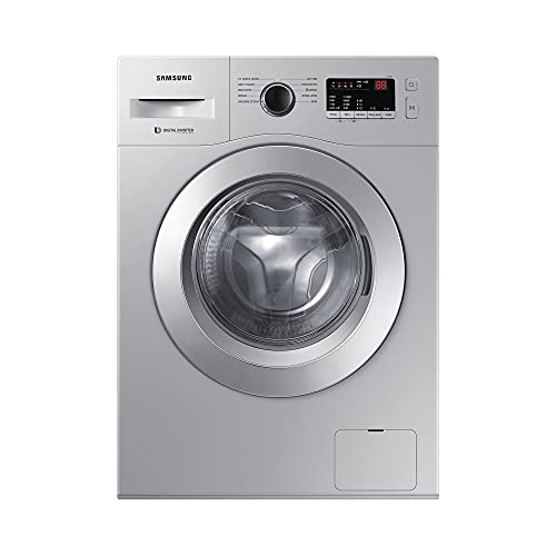 Samsung 6.0 Kg Inverter 5 star Fully-Automatic Front Loading Washing Machine (WW60R20GLSS/TL,...