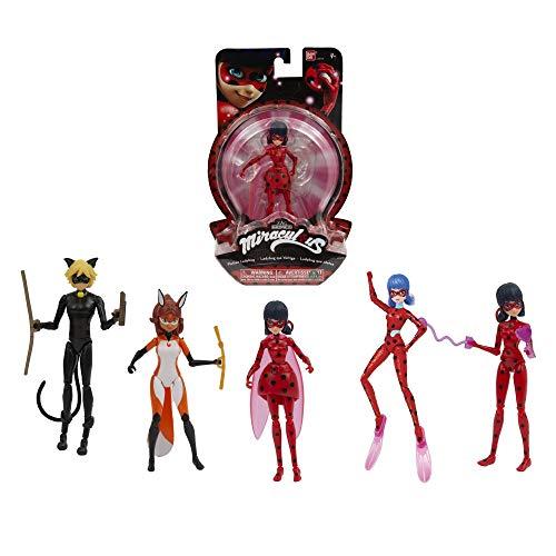 Giochi Preziosi Miraculous Personaggi Lady Bug 2, 14 cm