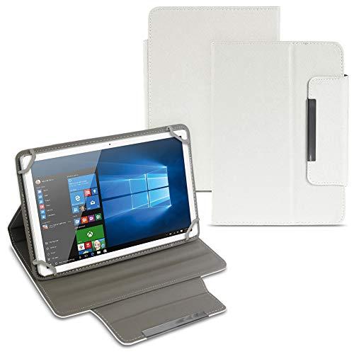 UC-Express MP Man MPQC1040i Tablet Tasche Hülle Schutzhülle Hülle Cover Tablettasche NAUCI, Farben:Weiß