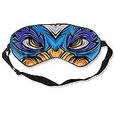 Máscara de dormir para gatos y perros enojados cómoda con los ojos vendados, ajustable para unisex