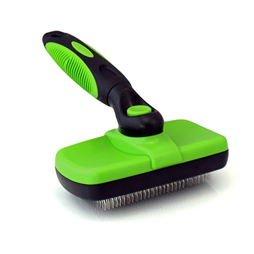 DGHJK Self Cleaning Slicker Brush, Brush for Dogs and Cats Pet Grooming Tool Removes Undercoat Shedding Mats and Tangled Hair