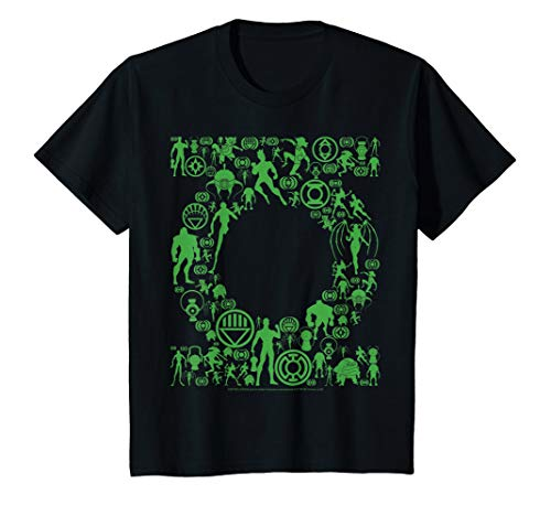 Kids DC Comics Green Lantern Gadgets Logo T-Shirt