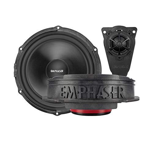 EMPHASER EM-VWF1: 20 cm Lautsprecher für VW T5, Komponentensystem, Einbauset für die vorderen Türen von Volkswagen T5 Transportern/Reisemobilen