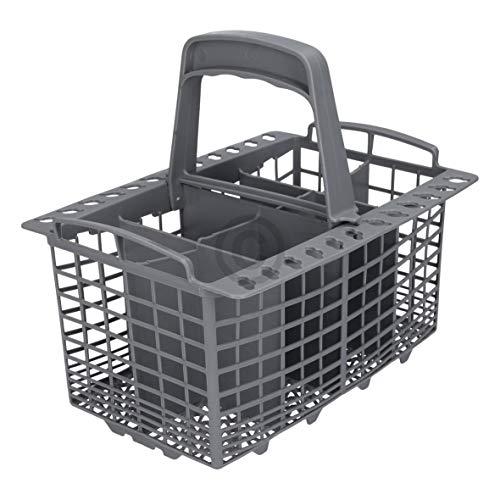Cesta de cubiertos para lavavajillas de plástico, repuesto para lavavajillas como Indesit C00094297