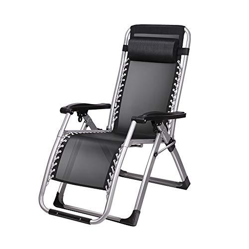 Folding table and chair Chaises Longues, Chaise Longue pour Le DéJeuner, éLargie De 72 Cm pour S'Asseoir sur Une Chaise Longue Inclinable, pour Balcons, Plages, Camping, Jardins