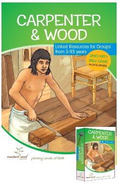 Tischler und Holz Bibel Aktivitäts- und Ressourcenbuch plus Kartenspiele