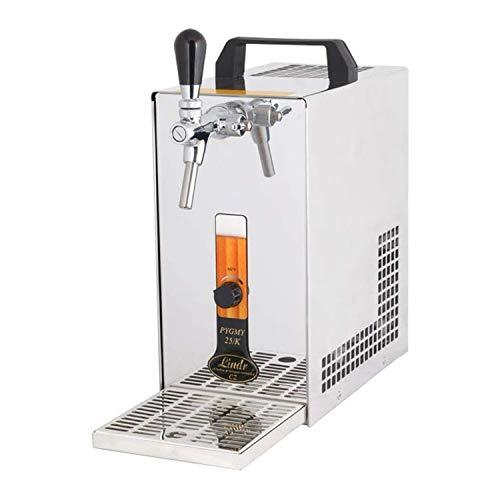 ich-zapfe Dispensador de Cerveza, PYGMY 20/K Dispensador de Cerveza con compresor de Aire, 1 Grifo, 20 litros/h, Green Line
