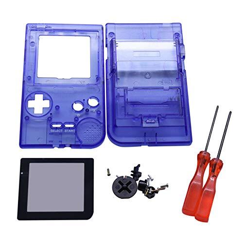 Henghx Sostituzione Pieno Alloggiamento Guscio Coperchio Caso Le Parti Set w/Lente&Cacciavite per Nintendo Gameboy Pocket GBP Console
