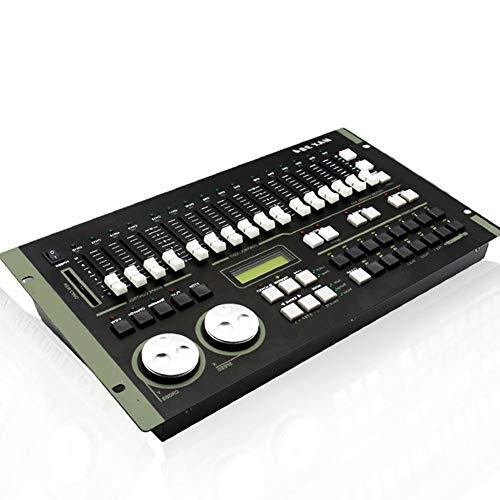 Profesional DMX512 Controlador 408 Canales Controlador de Iluminación de Escenario Universal Consola...