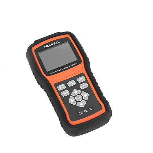 FOXWELL NT520 pro OBD Tiefendiagnose passend für Land Rover - ABS, SRS, Klima und viele weitere Steuergeräte incl. Adaption und Kodierkunktion