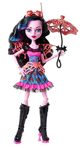 Mattel Monster High CCB40 - Fatale Fusion Hybriden Draculaura/Robecca, Puppe