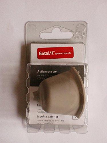 Westag Getalit WAP Compact Außenecke Hellgrau 90° Wandanschlussprofile Küche Arbeitsplatten Zubehör