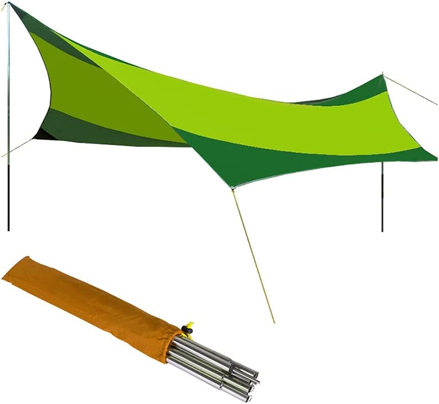 BBGS Camping Challenge the lowest price Tent Tarp Hammock Bombing new work Portable Rain Tarpa Fly