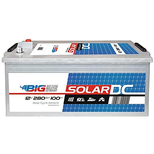 Solarbatterie 12V 280Ah Versorgungsbatterie Wohnmobil Boot Batterie statt 230Ah