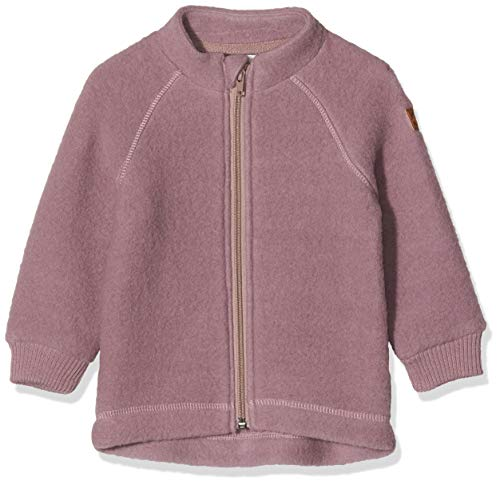 mikk-line Unisex-Child Wool Jacket Cardigan Sweater, Rose Taupe, 152