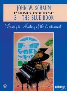 John W Schaum: Piano Cursus B - Het Blauwe Boek