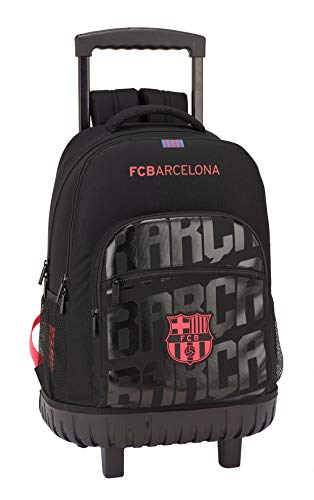 FCB FC Barcelona Mochila gde; con Ruedas Compact f.c.barcel 32x45x21 Color Azul 45 cm 611927818.