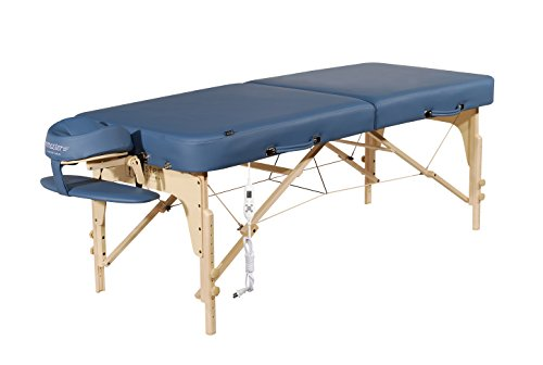 Master Massage 30' Phoenix Therma Top Portable Massage Table Bed Couch in Royal Blue with Built in Warming Pads