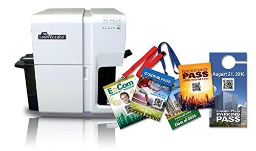 Swiftcolor Scc-4000d Digital en un seul Passage Jet d'encre imprimante de cartes et enveloppes