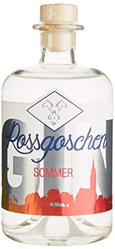 Rossgoschen Gin   Jahreszeiten-Gin: Vielseitig & perfekt zu jeder Zeit   Handcrafted in Hannover: Small Batch Premium Gin   Ideal als Gin & Tonic oder als Geschenk   40% vol, 0,5 l