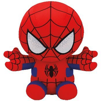 TY 96299 Spiderman-Marvel-Beanie-MED, Multicolored