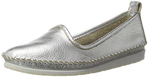 Andrea Conti Damen 0022701 Slipper, Silber (Silber 096), 35 EU