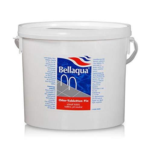 Bellaqua Chlor-Tabletten Fix 5 Kg Wasserdesinfektion