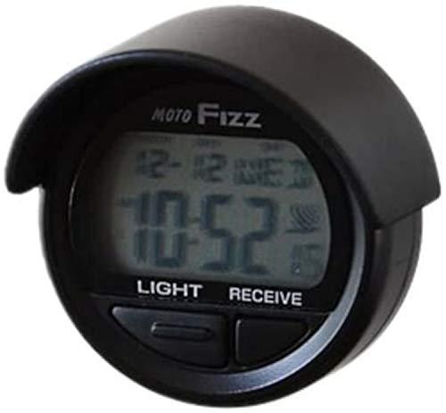 タナックス(TANAX) 電波クロック モトフィズ(MOTOFIZZ) ブラック MF-4672
