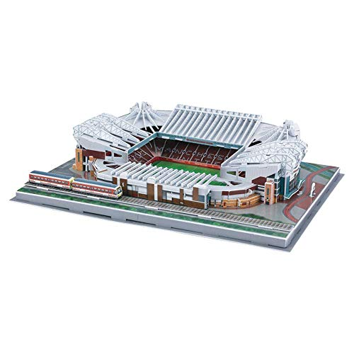 CMO Liverpool Anfield Stadium Modell, 3D-Stadion Puzzle, Fans Souvenir DIY Puzzle, 3-teiliges Set, 16