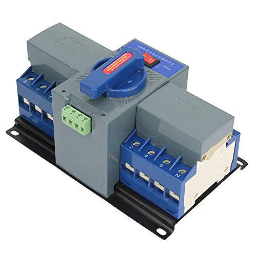 SEAFRONT Automatischer Umschalter, 1 Stück Mini 63A 4P Home Dual Power Automatischer Übertragungsschalter