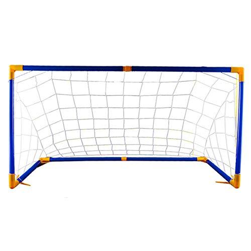 Fußball-Net Versammlungs-Tor, das tragbares Fußball-Netz faltet Großes Kinderfußball-Tor, das drinnen und draußen tragbares Fußballtor für Kinder ist Fußballtore ( Color : C1 , Size : 118*62*62 )