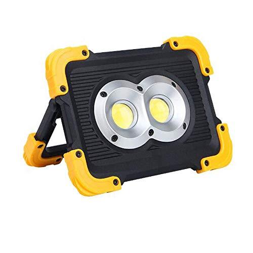 SYLOZ-URG Funda de Nylon Recargable LED del Trabajo, 1800 lúmenes LED de luz de inundación, 180 ° de rotación de la manija, la batería de Litio USB, Dispositivos móviles de Carga Puede URG