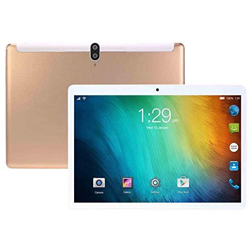 Tabletas,Android 10, 4GB RAM64GB ROM, Pantalla HD De 10 Pulgadas 1920 * 1280IPS, Cámara Dual De 8MP + 13 PM, 8800mAh, Tarjeta SIM Dual, Modo De Espera Dual, Wi-Fi, Bluetooth