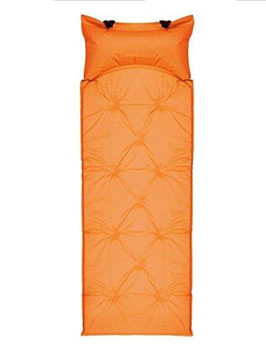 LIULIHUA Coussin Gonflable Automatique Coussin d'air Extérieur Tente d'air Pique-Nique Coussin D'humiditéÉpaississement Élevage Grand Matelas De Couchage,Orange