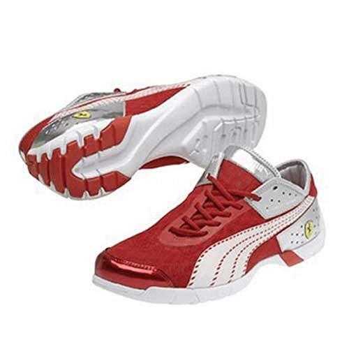 FERRARI Future Cat Super LT Chaussures Rouge/Blanc Taille 41