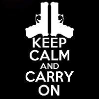 クリエイティブスクラッチ車のステッカー軍事銃器は落ち着いてボディステッカーを持ち歩く (Color : 2)