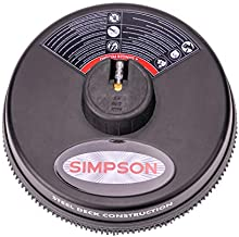 Simpson Cleaning 80165, Rated Up to 3700 PSI Universal 15