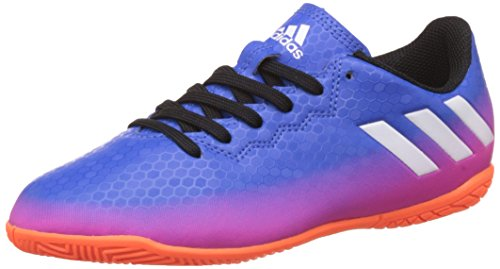 adidas Messi 16.4 In Football Shoe, Blue, 36 2/3 EU