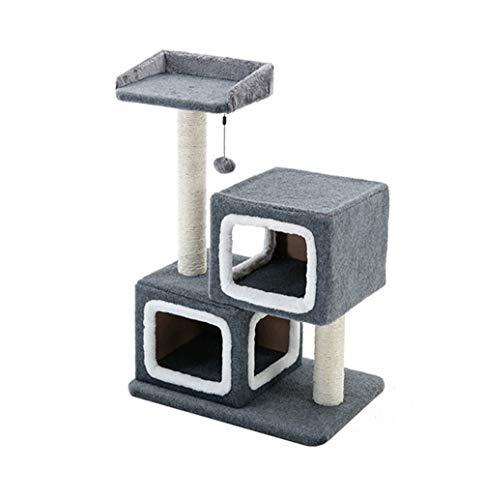 MIANBAO Estantes Para Armazón De Escalada Para Gatos Torre Rascador Para Gatos, Armazón Para Escalar, Muebles De Madera, Casa Para Gatos, Cosas Para Mascotas, Poste Para Rascar, Griffoir Chat, Juguete