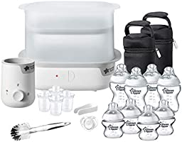 Tommee Tippee Closer to Nature Complete Feeding Kit, Pack of 1 - White