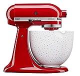 KitchenAid - Cuenco de cerámica para robot de cocina (4,7 L, 5KSM2CB5 unidades)