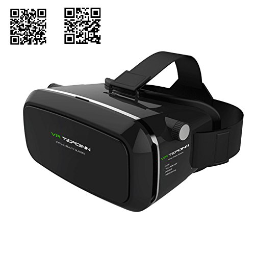 Tepoinn 3D VR Glasses, 3D VR Headset Virtual...