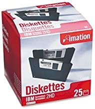 """3.5"""" Floppy Diskettes, IBM-Formatted, DS/HD, 25/Pack by IMATION (Catalog Category: Computer/Supplies & Data Storage / Data..."""