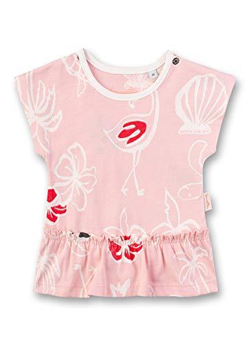 Sanetta Baby-Mädchen T-Shirt, Rosa (Rose 38099), 68 (Herstellergröße: 068)