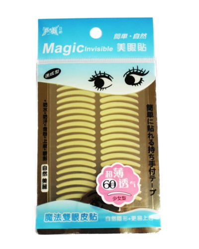 "MAGIC Invisible ""pretty size\"" (M) - Augenlidlifting ohne OP [1x60Paar]"
