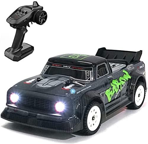 Este es un regalo que los niños aman mucho Control Remoto Coche de Carreras 2.4G 4WD RC Coche Con Faro Eléctrico Drifting Coche de Alta Velocidad Coche RC Off-road Drift Racing ESP System Toy Car Chil