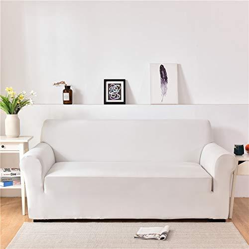 ASCV Fundas de sofá de Spandex para Sala de Estar Color sólido seccional en Forma de L Funda de Esquina Funda de sofá Protector de Silla A9 2 plazas